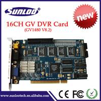 16CH  DVR Card GV1480 GV Video card security dvr card video capture card