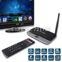 CS918 Android 4.4 TV Box Quad Core Q7 RK3188 1080P Mini PC Streamer RJ45 WiFi 2GB 8GB Smart TV Media Player with Remote Control