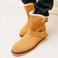 2014 Men's high tide to help casual winter snow boots paragraph Korean fashion casual shoes free shipping