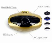 Big Sale Fish Eye Style mini Car Dvr H500 1.5 inch Playback LCD 170 degree wide angle 1080P Novatek Chip