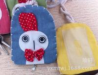 Korean cute cartoon animals zero Purse / bag / eyes / key card packet / multifunctional bag  free shopping