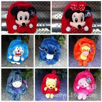 Fashion cartoon Animal Plush Backpack / children's bags chiildren gift  free shopping