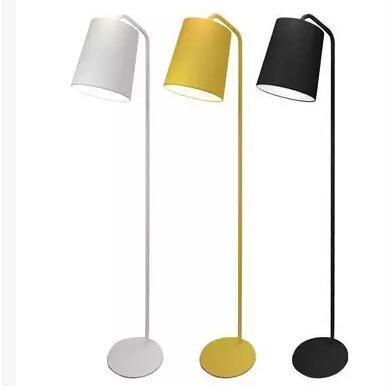 Modern Hide Of Zero Aluminum Floor Lamp Office Yellow White Black Floor Lamp  Bedroom Study Floor Lamps For Living Room