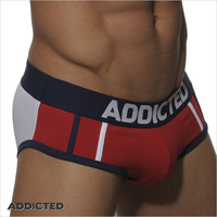 New Arrival Online Stock Cheap Fashion Addicted Brand Mans Police Panties Men Underwear Addicted Boxer-009