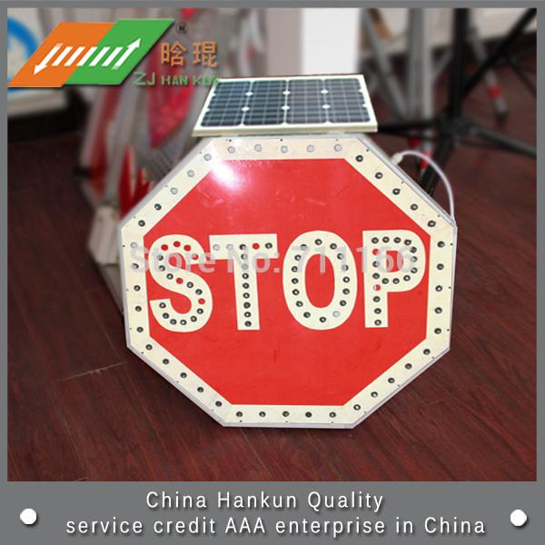 Warning security card Solar Traffic Signs(China (Mainland))