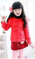 2014 new arrival fashion girls winter coat,princess girls winter jacket,white duck down coat children winter outwear WCJ-011