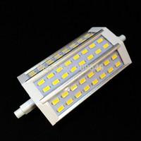 10pcs/lot Ultra Bright! 15W SMD5730 LED R7s light,AC85-265V,Warm white/White,CE,RoHS,free shipping!
