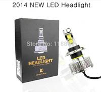 1 Pair CREE 60W 5600LM 6500K H4 Hi Lo Car LED Headlight Kit DRL Fog Headlamp Bulb xenon hid Free Shipping