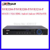 Dahua NVR 8/16CH Video Input NVR3208-P/NVR3216-P 1 VGA/1 HDMI Output 8CH POE Ports HD 1080P Network Video Recorder 2HDD 2USB NVR