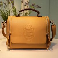 Wholesale new handbag British crown fashion bags handbag shoulder bag Vintage 80PCS/LOT