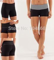 New Stylish Women's Lulu Yoga Fashion Brand Shorts Black Design Summer Hot Sexy Lady's Pants Girls Casual Sports Fitness Capris