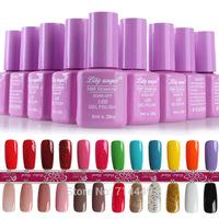 QQ Barbie Nail Gel Polish Beauty Nail Cosmetic Glue Safe Natural Nontoxic Nail Art Care Polish Fashion charming Stage Makeup