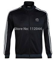 TOP Thailand  Quality   Real Madrid   Black   2014-2015 Ronaldo  Bale  James  Soccer  Jacket 14-15   training     Free  Shipping