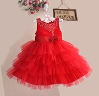 Baby Party Dress Sequin Flower Girl Dress Flower Girl's Princess Dress Kid' Communion Gown Wholesale