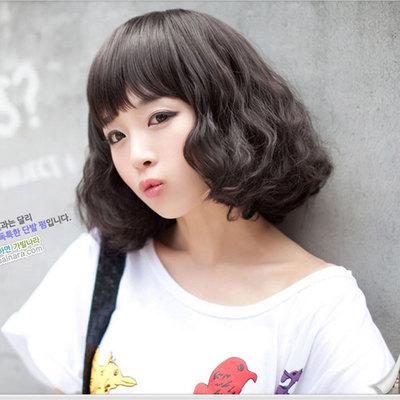 Парик из искусственных волос None cabelo sintetica perruque peluca H010