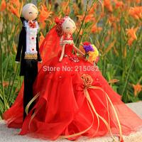 Handmade wedding doll wedding gift decoration quality wedding gift fashion home decoration