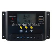 12V/24V lcd display solar charge controller