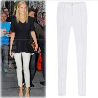New 2014 Women Winter Pants Leggings Good Quality European Brands Fashion Slim Base Casual Joker Feet Pencil Trousers