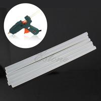 B39  Free Shipping Art Craft Repair Tool 20W Electric Heating Hot Melt Glue Gun Sticks Trigger +6Pcs 7mm Hot Melt Glue Sticks