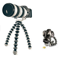 5075 hot Digital Camera Tripod Stand Flexible grip Octopus Bubble Pod Monopod Flexible Leg Small Camera Holder