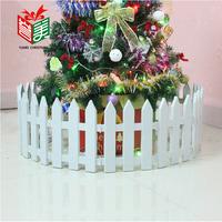 New 2014 Christmas Tree Decoration White Plastics Fences Christmas Scene Props 100g 30x20CM 5PCS/Packs