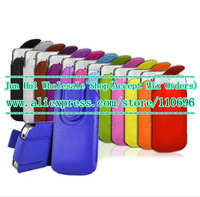 Wholesale 2000pcs/lot 2014 New Good quality Magnet Rope Pull Tab Pouch Design Case For Apple iphone 6 6G Plus 5.5 inch