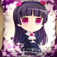 The lovely Ore No Imouto Ga Konnani Ka Waii Wake Ga Nai anime pillow cushions 45*45cm