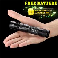Free shipping-2014 new Original Nitecore  EC20 960 lumens CREE XM-L2 T6 LED flashlight + free nitecore 2300 rechargeable battery
