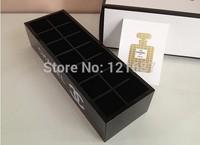 Fashion brand 14 grid dressing / storage box high-grade acrylic jewelry box / cosmetic box / cosmetic storage box / kit