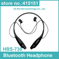 50pcs HBS-730 Wireless Bluetooth HandFree Sport Stereo Headset headphone earphone Neckband for Samsung for iPhone for LG