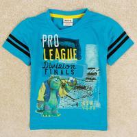Boy's t shirt summer hot selling baby boy wear printed cartoon t-shirt 100% cotton baby clothes boys C5225Y