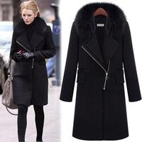 Fur Coat Winter Jacket Women Clothes Woman Ladies Female Warm Women's Plus Size Coat Jackets Clothing coat woolen Coat Female