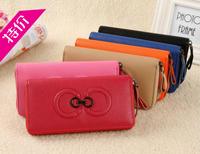 Fashion Women Wallets good Leather Wallet Double Zipper Day Clutch Purse Wristlet Portefeuille Handbags Carteira Feminina