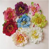 100Pcs/bag 7CM  Top Quality  Wedding Decor Christmas Decoration Fabric  Artificial Flowers  Dress Hat Diy