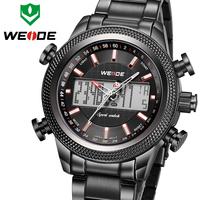 Hot Sale WEIDE Watch Men Reloj De Pulsera Luxury Brand Multi-function Analog-Digital Waterproof Watch For Men Fashion Style