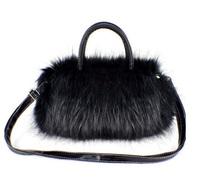 New Winter female bags fashion vintage  bag shoulder bag handbag women messenger bag long-haired fur handbag