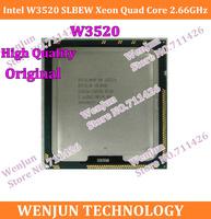 High Quality 100% Original  W3520 2.66GHz 8M 4.8GT/s LGA1366 SLBEW CPU Server Processor 10PCS/LOT