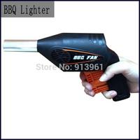 BBQ Lighter Outdoor Gun Grill Air Fire Flame Lighter For Barbecue Grill For Outdoor Blower Bellows Camping Cooking Utensils