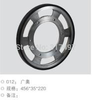 Elevator handrail driver friction wheel 456*35*220