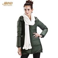 2014 new fashion winter long slim down coat down jakcet