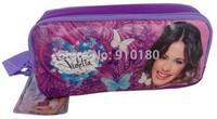 Hot Violetta original Pencil case Bag Double Zipper Pencil Bag Child Student Pen Case Gift For Children