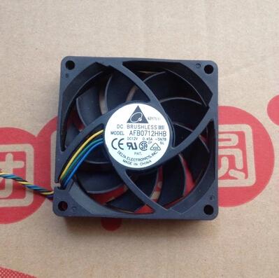 7CM 7 cm 4 pin AMD CPU original ball fan delta AFB0712HHB 0.45A(China (Mainland))