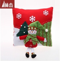 stars/snowman/old man hold pillow/deer/Christmas cloth art Christmas decorations that occupy the home furnishing articles