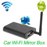 Car Wi-Fi Mirror Box Universal for any Car Audio Car Smart Screen Mirroring Wi-Fi Mirror Box Airplay Miracast DLNA
