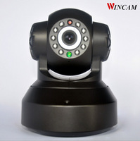 Free Shipping Wincam Hot 0.3MP Plug and Play Wireless WIFI IP Camera Support 32G SD Card Recording