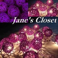 LED Chandelier Luminous Light Luminaria Wedding Decoration Navidad Luminous Lamp 3 M Holiday Lighting String Ball Pendant Lights