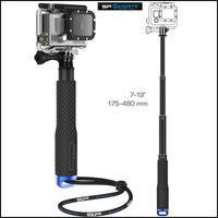 2014 New gopro Aluminum Extendable Pole Telescoping Handheld Monopod with Mount Adapter for GoPro Hero 1/ 2/ 3 3+ 4 SJ4000 #70ii