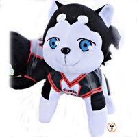 Japan Sunspot basketball doll cute Tetsuya No. two Dog Plush Doll festival gifts