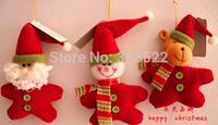 105 PCS/lot EMS Free Shipping Christmas decorations Christmas gifts Christmas Snowman Santa Claus reindeer cute Christmas toys