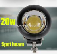 "4"" 20W Cree Led spot headlights Automotives Car truck ATV SUV Daytime driving Fog light Off-road vehicle Machine Led work light"